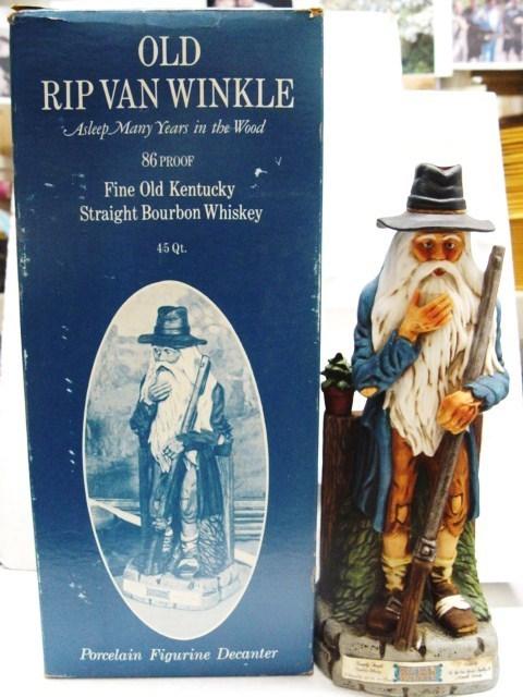 An Old Rip Van Winkle decanter