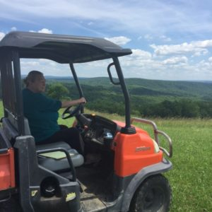 Sharon Klay was kind enough to take me for a gator ride through the property.  The views were breathtaking.